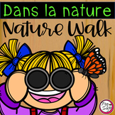 French Nature Walk Scavenger Hunt • Distance Learning