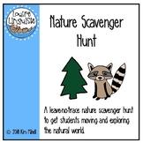Nature Scavenger Hunt (English)