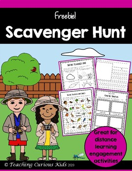 Nature Scavenger Hunt Freebie