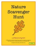 Nature Scavenger Hunt with booklet