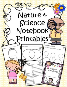 Nature & Science Notebook Printables