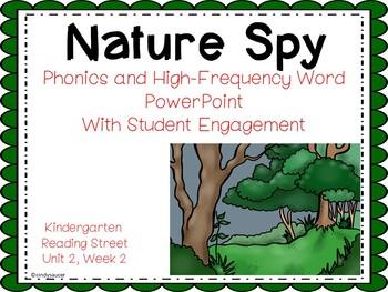 Nature Spy, Kindergarten, PowerPoint, Reading Street Unit 2, Week 2
