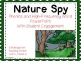 Nature Spy, PowerPoint with Student Engagement, Kindergarten