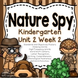 Nature Spy Kindergarten Unit 2 Week 2