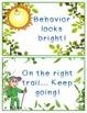Nature Theme Behavior Chart