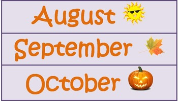 Nature Theme Calendar