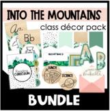 Nature Theme Classroom Bundle