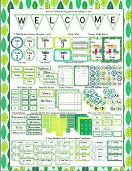 Nature Themed Classroom Bundle