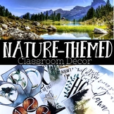 Nature Themed Classroom Decor: Inspirational Posters, Signpost, Bunting, Banner