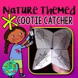 Nature Themed Cootie Catcher! FREEBIE