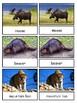 Nature Toob Animals--Montessori 3-part cards--Safari Nature toob