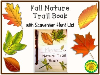 fall nature trail book by growing smart readers teachers pay teachers. Black Bedroom Furniture Sets. Home Design Ideas