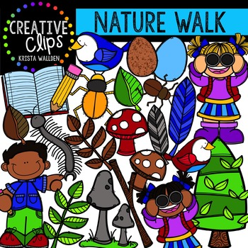 Nature Walk {Creative Clips Digital Clipart}