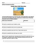 Nature Walk Observation Sheet