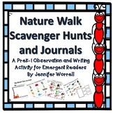 Nature Walk Scavenger Hunts and Journals