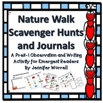 Nature Walk Scavenger Hunts and Journals