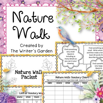 Nature Walk Sensory Activities