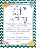 Nature Walk Writing