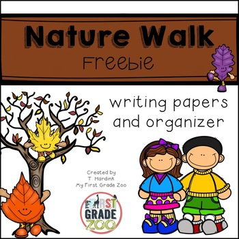 Freebie - Nature Walk Writing