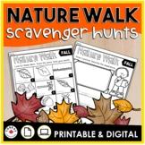 Nature Walk Scavenger Hunts | Fall Winter Spring Summer