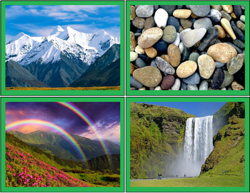Nature and Culture Sorting Activity (made by human / by nature sorting)