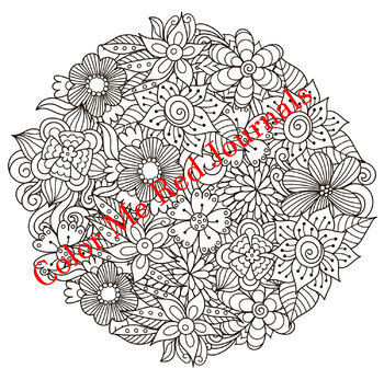 Nature and Floral Mandalas Coloring Pages- Nature, Flowers, Animals, Birds Theme