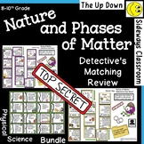 Nature and Phases of Matter Detective's Matching Review Set
