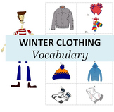 Nature and Weather A: Winter Clothing Vocabulary