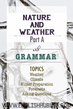 Nature and Weather (Unit A Packet): Winter Weather and Preparation