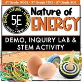 Nature of Energy Demo, Lab, and STEM Activity