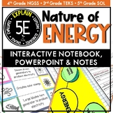 Nature of Energy Interactive Notebook, Notes, and PowerPoint