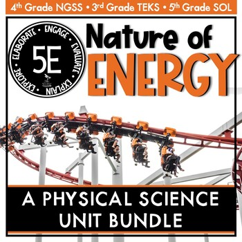 Nature of Energy - Physical Science Unit BUNDLE