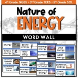 Nature of Energy Word Wall