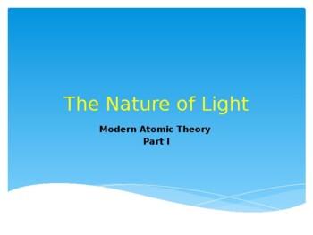 Nature of Light ppt