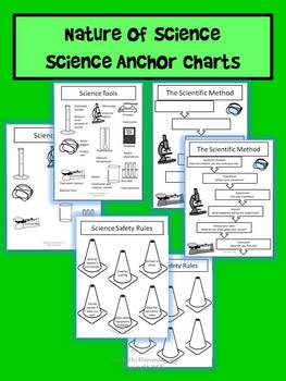 Nature of Science Anchor Charts with Student Pages (STAAR)