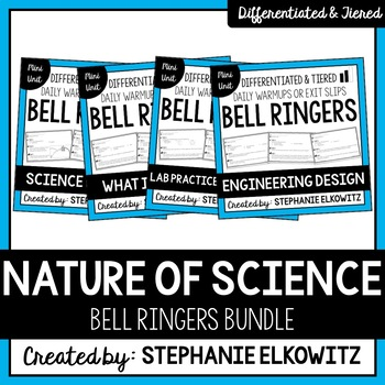 Nature of Science Bell Ringers Bundle