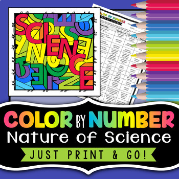 Nature of Science - Color by Number