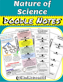 """Nature of Science Intro """"Doodle Style"""" Notes"""