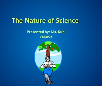 Nature of Science - PowerPoint