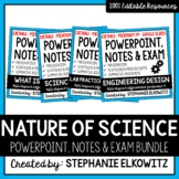 Nature of Science PowerPoint, Notes & Exam Bundle