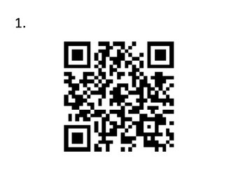 Nature of Science Questions with QR codes