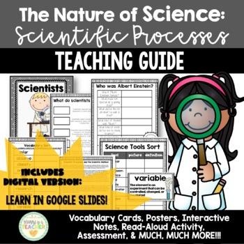 Nature of Science: Scientific Method & Processes {Interactive Notebooks}