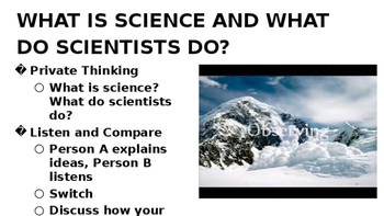 Nature of Science Unit