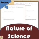 Nature of Science Unit Review