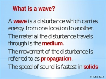 Nature of wave review and challenge