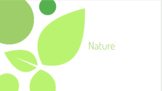 Nature powerpoint