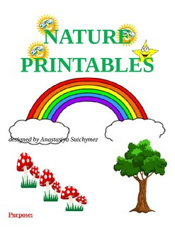 Nature printables and worksheets