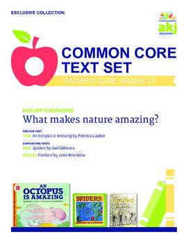 Nature's Wonders Common Core Text Set