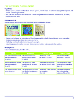 Nature's Wonders Common Core Text Set