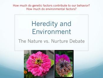 Nature v. Nurture Lesson